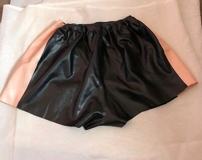 Womens Latex Rubber Shorts