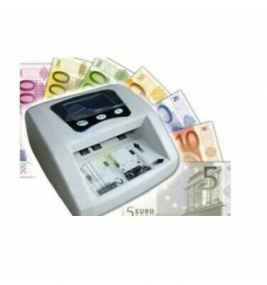 Rileva Conta Euro Soldi False Mini Rilevatore Money Detector Verifica Banconote