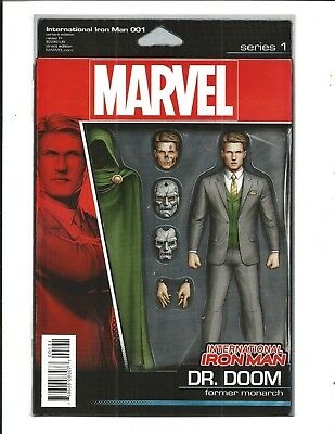 International Iron Man # 1 (Dr. Doom Action Figure Variant, May 2016), Nm New