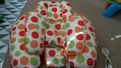 ClevaMama ClevaCushion Nursing Pillow 10-in-1 used ( *toys missing*)