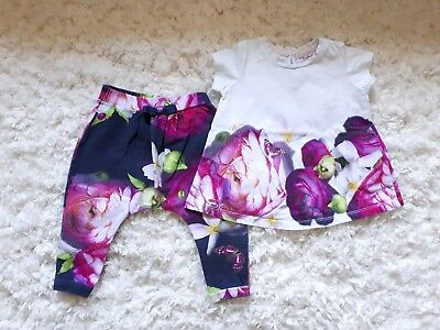 Baby girl ted baker 9-12 Outfit Set