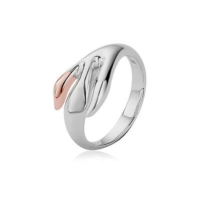 BRAND NEW Clogau Silver & Rose Gold Tree of Life Eden Ring £95 off! SIZE P