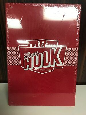 Sal Buscema Incredible Hulk Marvel Artist Select Series Signed Still Sealed  IDW