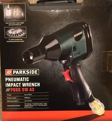 Parkside Pneumatic Impact Wrench PDSS 310 A3