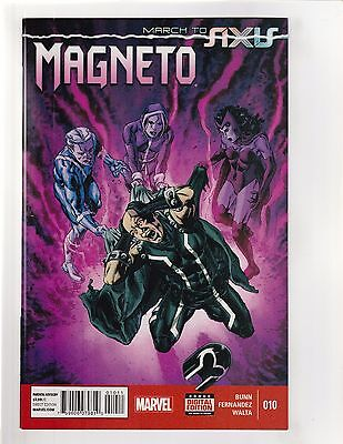 Magneto (2014) #10 NM- 9.2 Marvel Comics March to Axis;X-Men