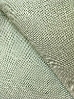 Green / Grey  28 count Cashel Linen 50 x 70 cm Zweigart fabric