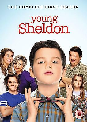 YOUNG SHELDON Stagione 1 Completa BOX DVD in Inglese/Spagnolo/Francese Nuovo