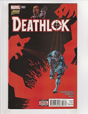 Deathlok (2014) #3 NM- 9.2 Marvel Comics