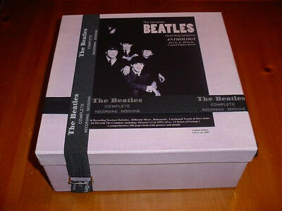The Beatles Complete Recording Sessions Anthology Box   62 CD/10 DVD on USB
