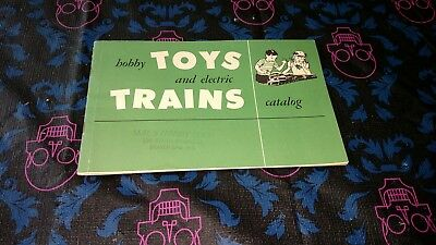 VINTAGE 1953 Hobby Toys and Electric Trains Catalog A C. Gilbert, American Flyer