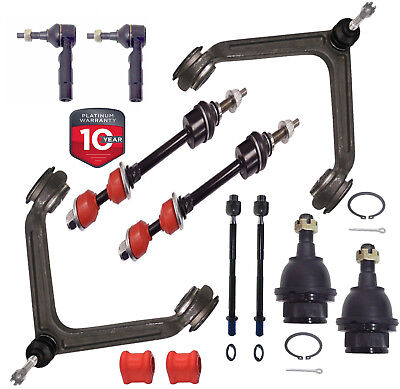 12PC Front Upper Control Arm & Ball Joint Kit FOR 2002-2005 Dodge Ram 1500 4x4