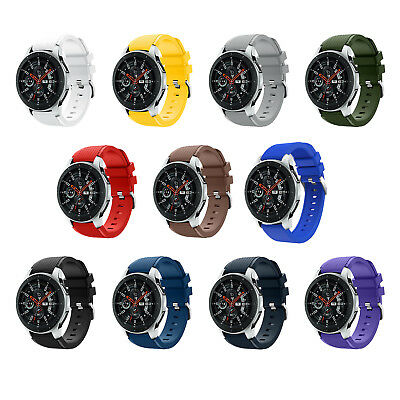 Sport Silicone Band Bracelet Strap Replacement For Samsung Galaxy Watch 46mm