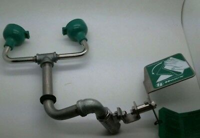Haws Eye/Face Wash, Chrome Plated Brass Valve w/ Handle, Unused