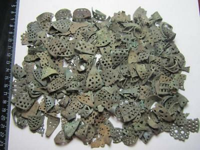 Ancient rings.Metal detector finds (250 fragment's) 100% original