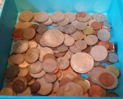 Job Lot Of Old Coins Including 2 American Copy Coins - Lot A