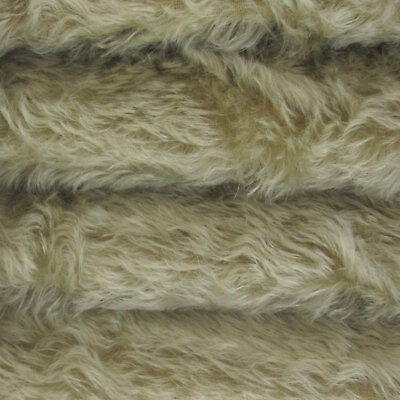 "1/4 yd 785S/C Sage INTERCAL 3/4"" Med. Dense Curly German Mohair Plush Fur Fabric"