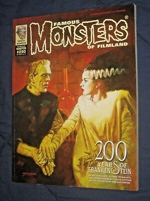 FAMOUS MONSTERS #290 New!    Big 200  page annual BRIDE OF FRANKENSTEIN CVR