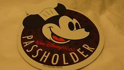 Disney Epcot Food And Wine Festival 2018 Annual Passholder Car Magnet Mickey New
