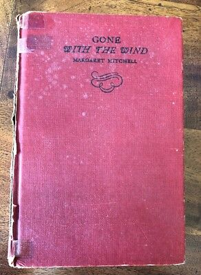 Vintage gone with the wind Margaret Mitchell book 1947