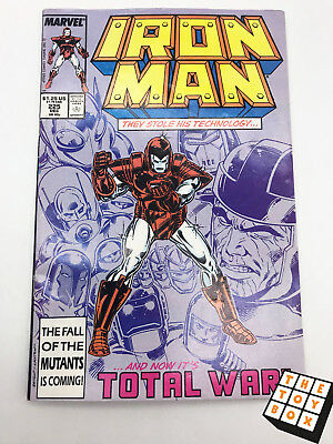 Vintage Marvel Comic Book Iron Man # 225 1987
