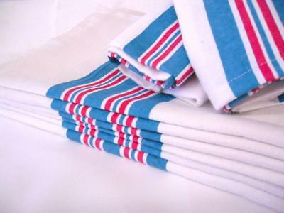 6PK - Soft 100% Cotton Nursery Receiving Hospital Baby Blankets 30 x 40