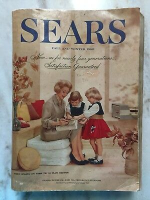 1960 Sears Fall Winter Catalog 1592 Pages Fashion