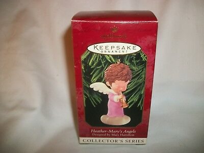 1999 Hallmark MARY'S ANGELS Heather 12th in Series Christmas Ornament