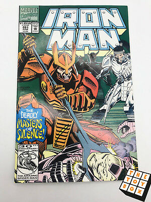 Vintage Marvel Comic Book Iron Man # 281 1992 1st App of War Machine