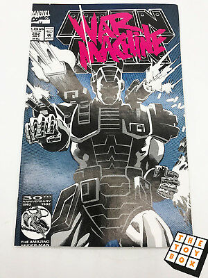 Vintage Marvel Comic Book Iron Man # 282 1992 1st App of War Machine