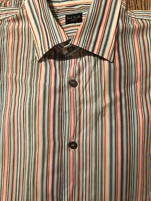 Paul Smith Striped Shirt Size 15.5