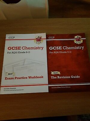 Gsce Aqa Chemistry Revision Guide And Workbook