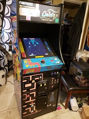 Ms Pac-man Galaga Combo 20 Yr Video Game WILL TRADE FOR WIDE FORMAT PRINTER