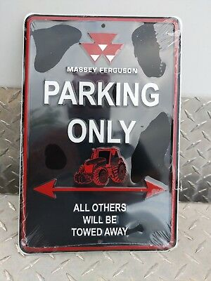 Agco Massey ferguson tractor parking aluminum Sign very colorful nice free ship