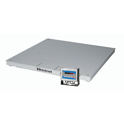 """Brecknell DCSB Low Profile Deluxe Display Pallet Scale 48"""" x 48"""" 5000 Lb x 1 Lb,"""