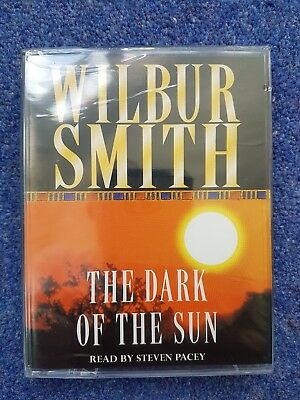 Wilbur Smith - The Dark of the Sun - cassette audio book audiobook New Free P&P