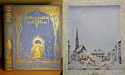 1923 Andersen's Fairy Tales FIRST EDITION Kay Nielsen COLOUR ILLUSTRATED Book