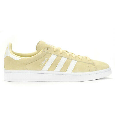 outlet store 0c1b6 f8e4a Adidas Originals Mens Campus Yellow Mist SunWhite Shoes DB0546 NEW!
