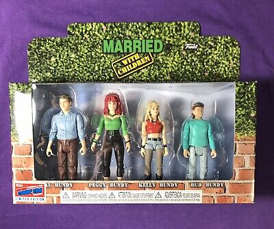 Funko Pop Vinyl NYCC 2018 Married With Children 4Pack Official Sticker IN STOCK