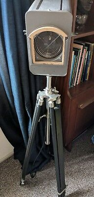 Tripod Lamp - Old Strand Electric Stage Light