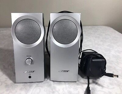 Bose Companion 2 Multimedia Speaker System 2 Speakers Computer Office Home