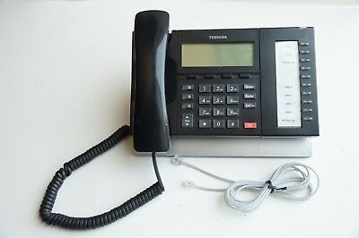 Toshiba Strata DP5022-SD BLACK 10 Button Business Display Speaker Telephone