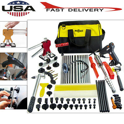 PDR Paintless Dent Puller Lifter Slide Hammer Tools Repair Glue Gun Removal Kits
