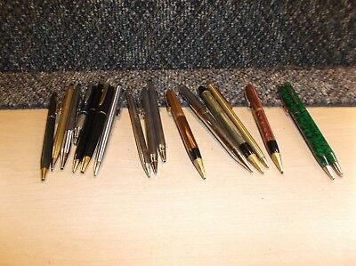 Lot of 17 Vintage Ink Pens &  Mechanical Pencils.