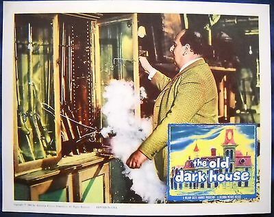 THE OLD DARK HOUSE William Castle Robert Morley Lobby Card from 1963