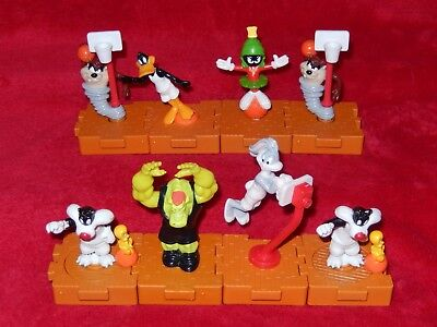 Vintage 1996 McDonald's Happy Meal Toys  - SPACE JAM Lot