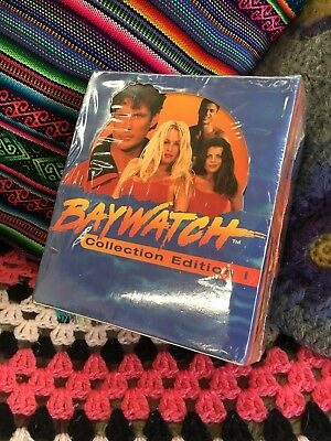 Box Of Unopened Baywatch Collectable Trading Cards 36 Packs 1995