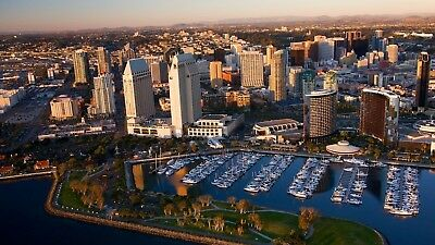 1p Auction San Diego Skyline HD Wallpaper Image Penny Collection Free No Reserve