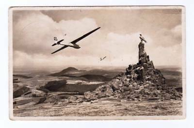 1938 PPC Glider Flight Over Aviator Monument ~ Used