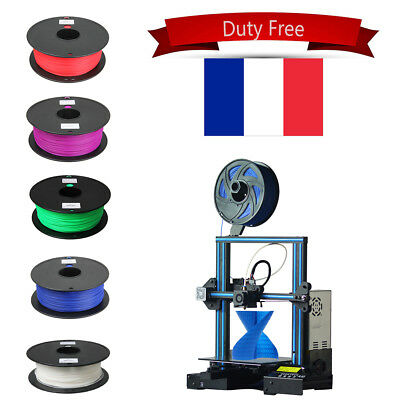 Tax Free! Imprimante 3D Printer A10 Upgraded High Precision 1.75mm Filament