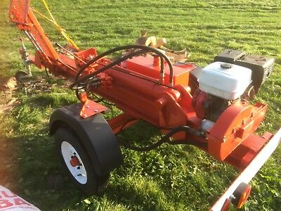 log splitter for hire with operator
